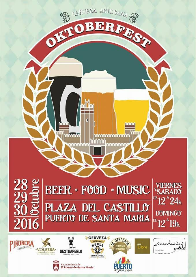 El OktoberFest recala en la Plaza del Castillo con cerveza artesana
