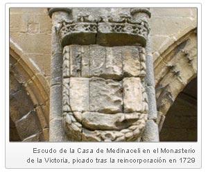 Escudo de la Casa de los Medinacelli