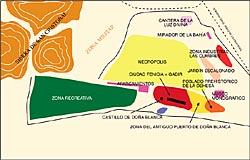 Poblado mapa