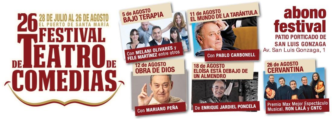 XXVI Festival de Teatro de Comedias