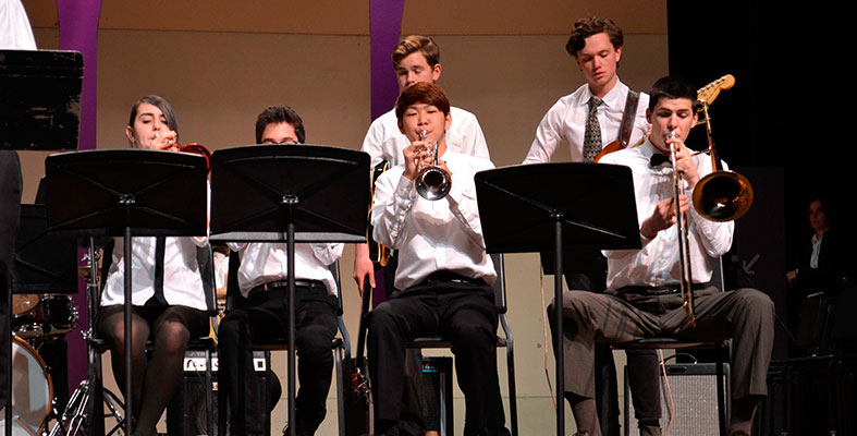 BROOKS SCHOOL JAZZ BAND