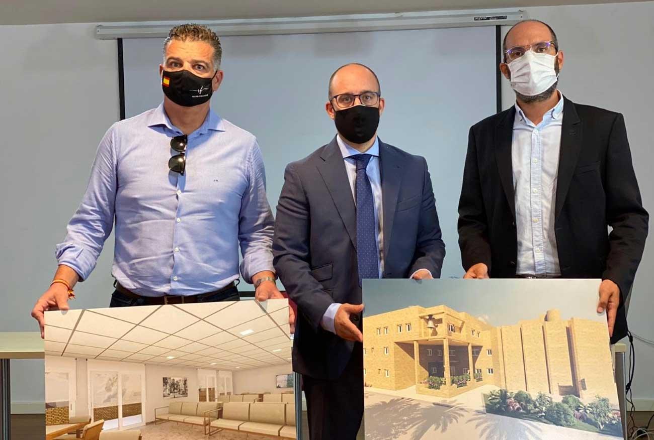 Presentada la nueva Residencia del Recinto Ferial de las Banderas, que supondrá una inversión de 5 millones de euros