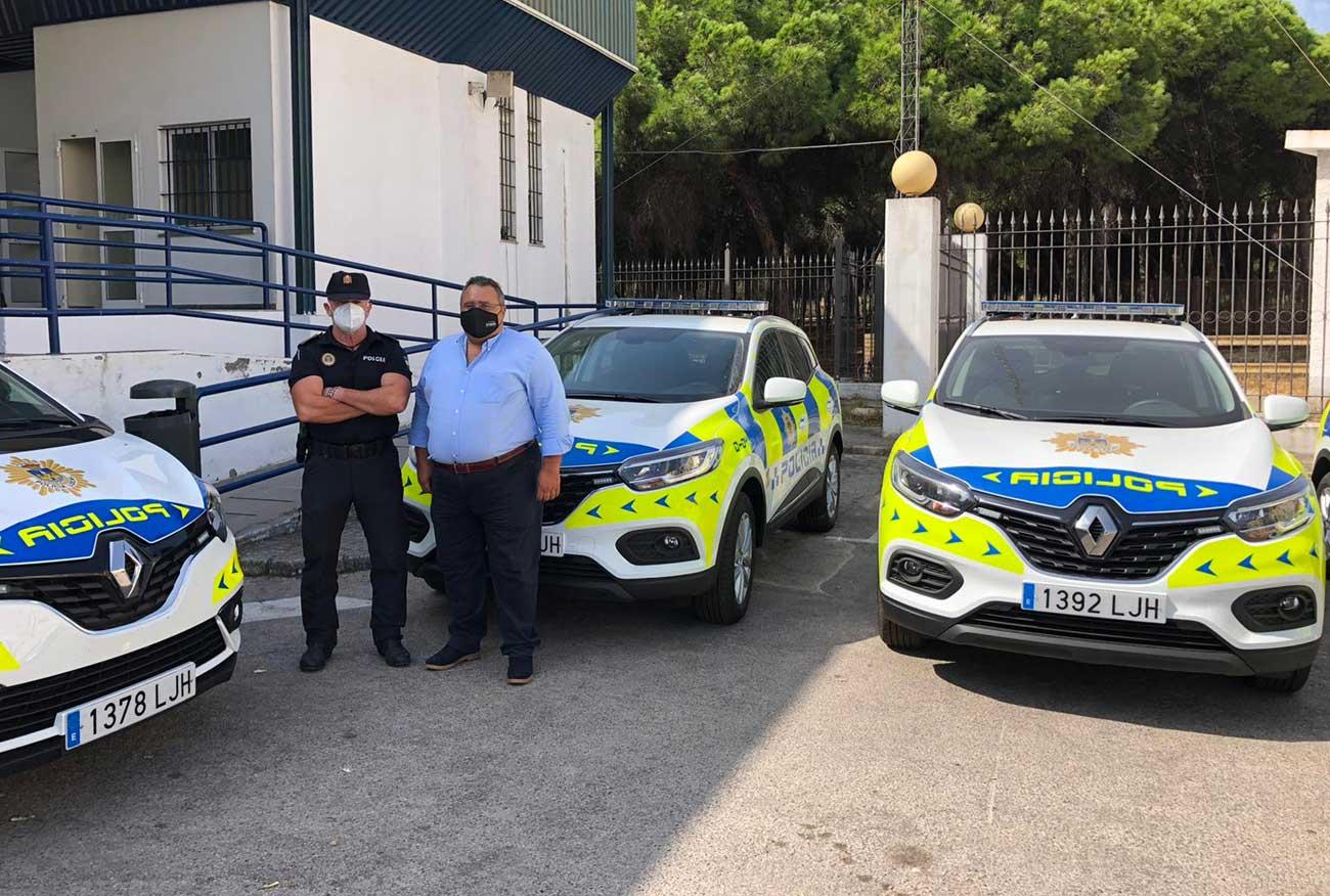 La Policía local de El Puerto estrena su nueva flota de vehículos