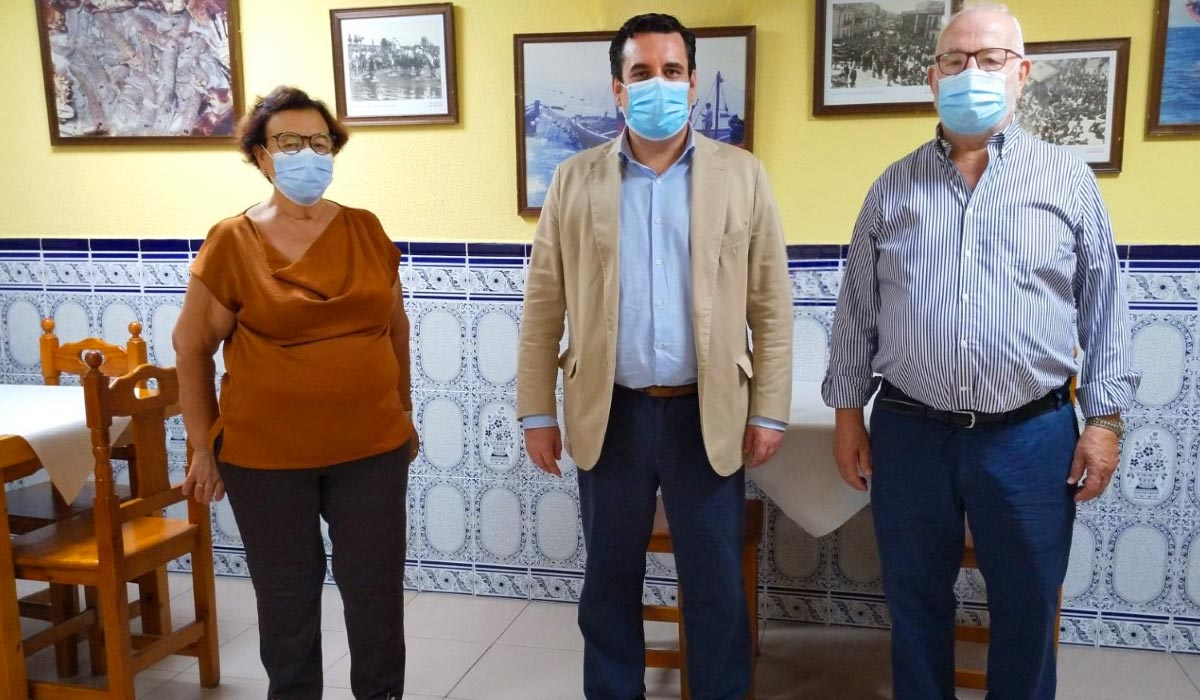 El concejal de Turismo visita La Dorada con motivo de su 40 aniversario