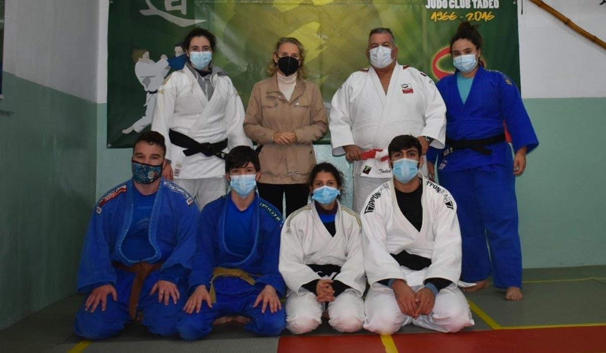 Cuatro jóvenes portuenses representarán a la provincia en el campeonato de España de Judo de este sábado