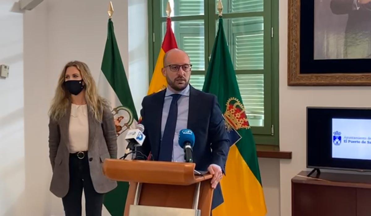 Germán Beardo, agradece el compromiso de la Junta con El Puerto en los presupuestos para 2021