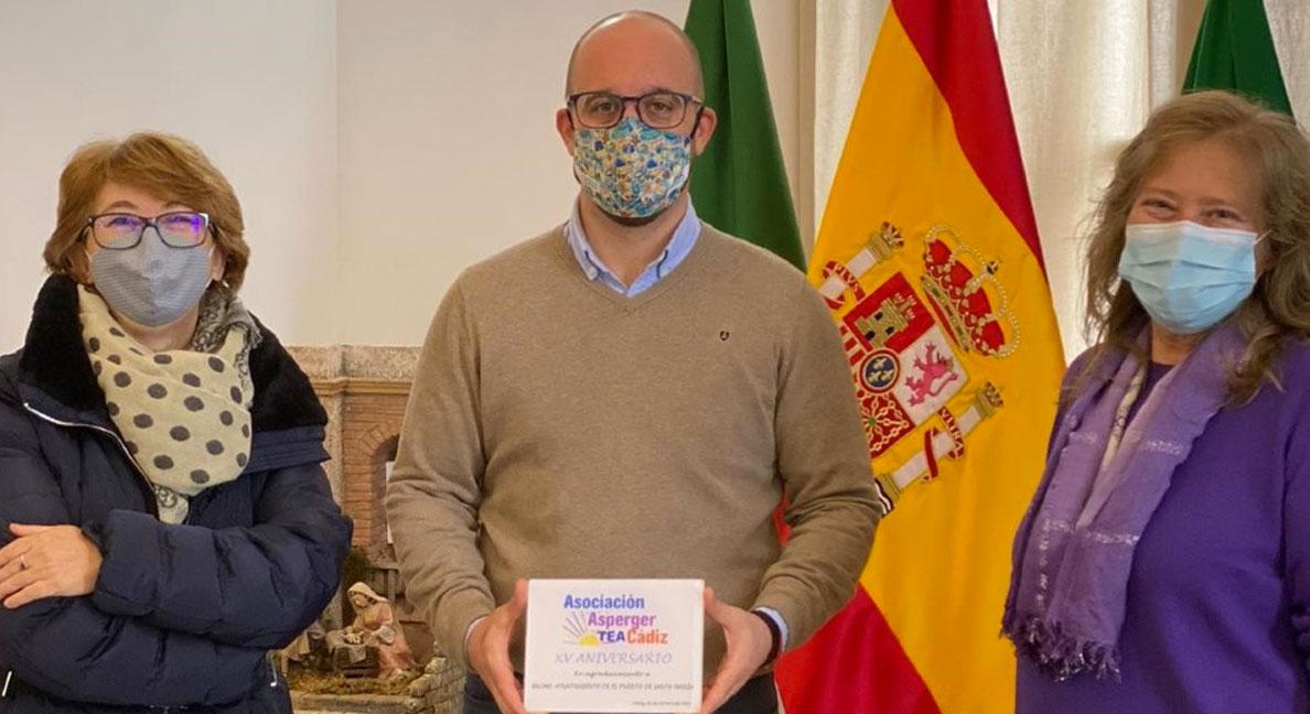 Germán Beardo agradece a la Asociación Asperger su lucha por la integración social y laboral de las personas con discapacidad social