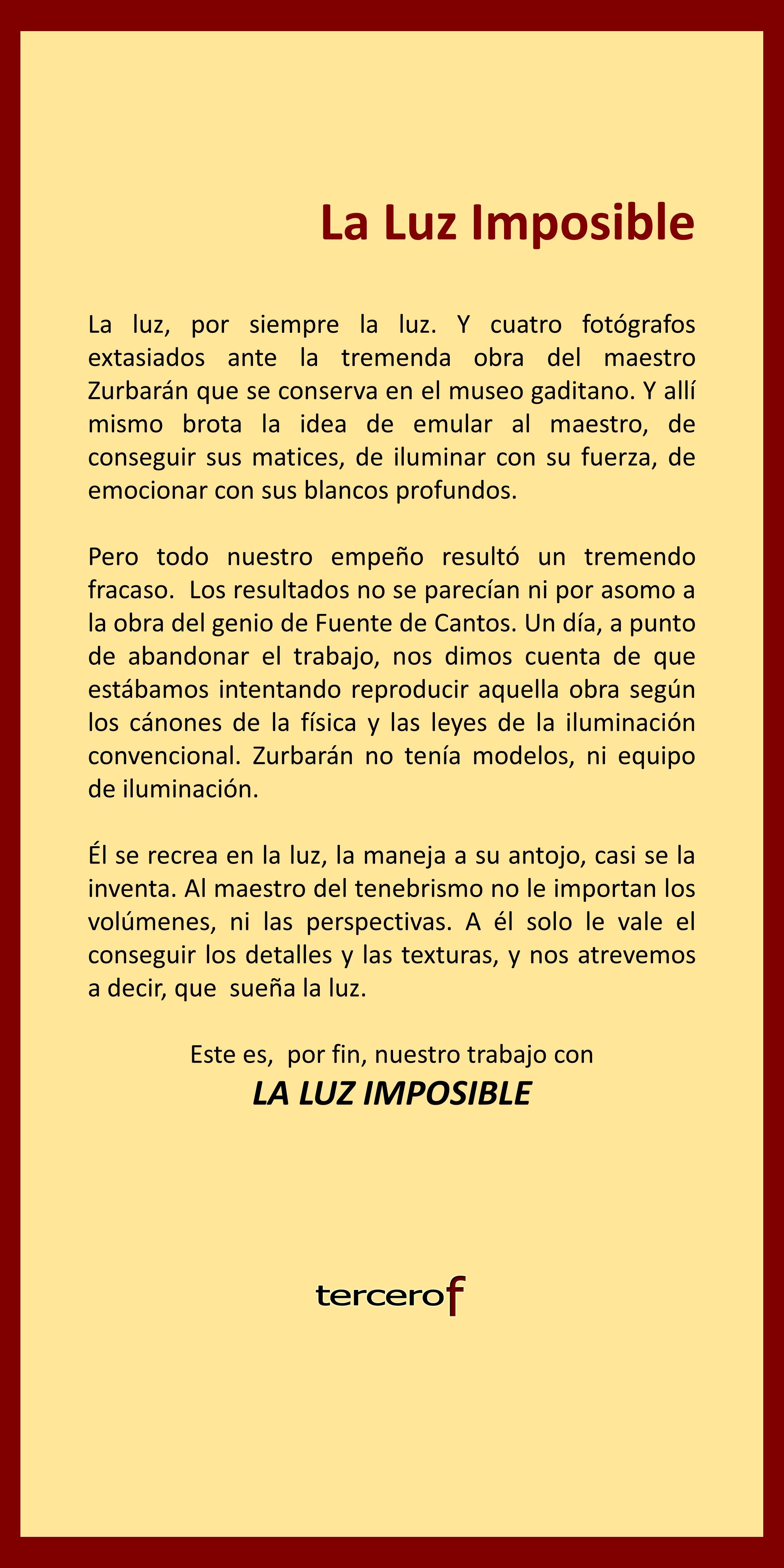 Zurbarán: la luz imposible