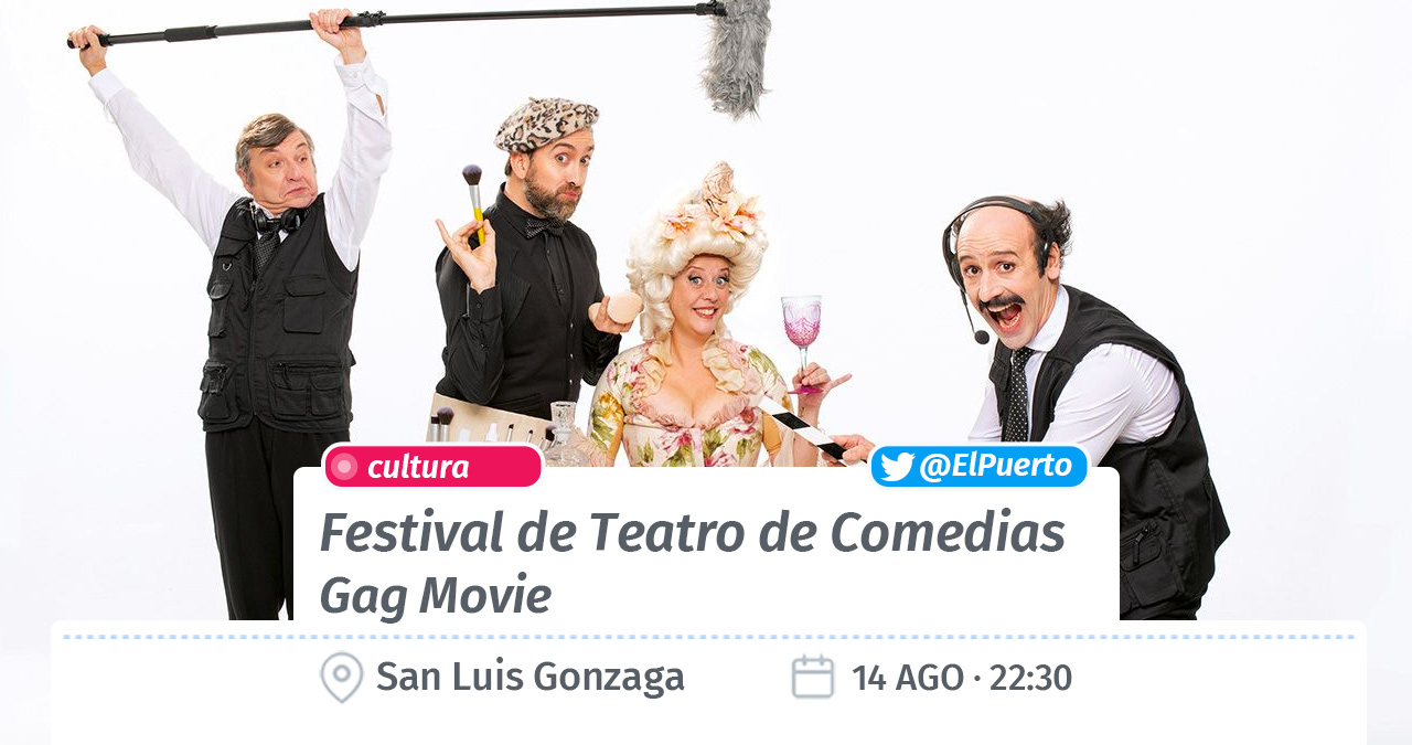 Teatro de Comedias · Gag Movie