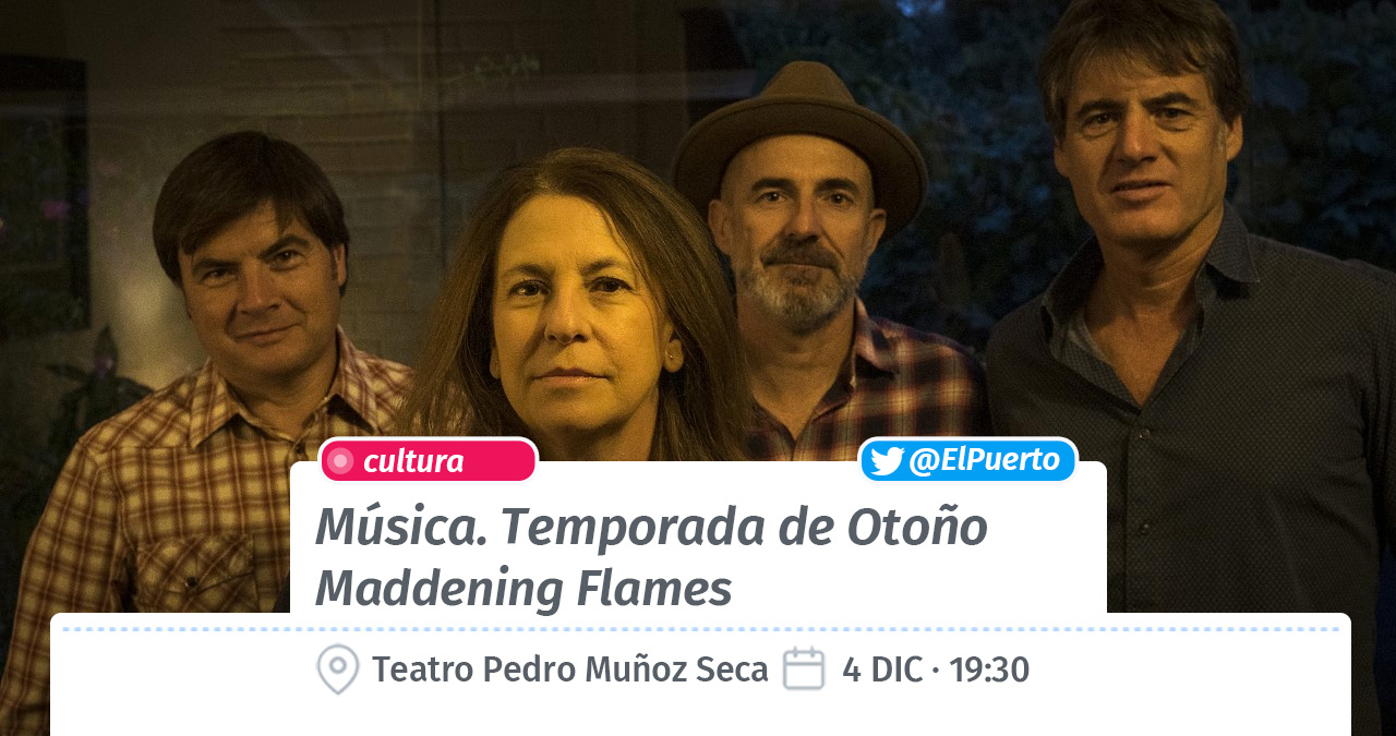 Escena Rock · Maddening Flames