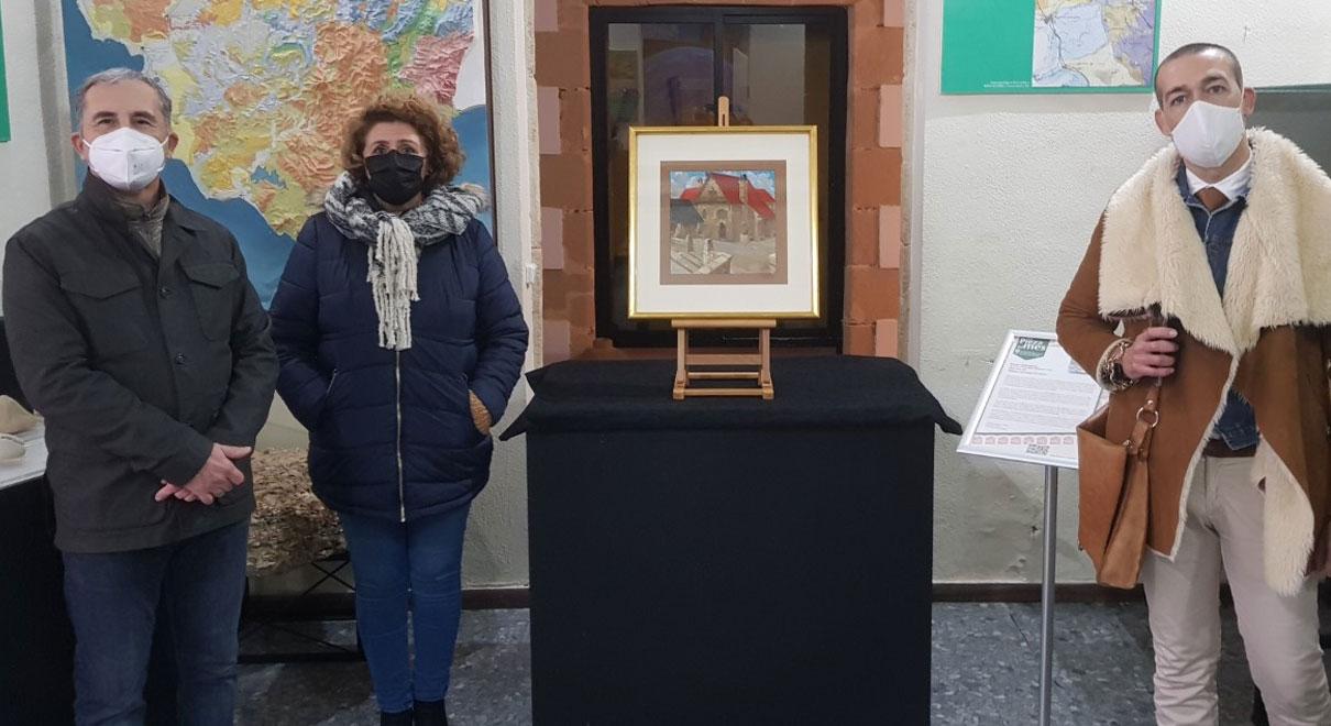 Presentada la pieza del mes del Museo Municipal, el cuadro de Eulogio Varela