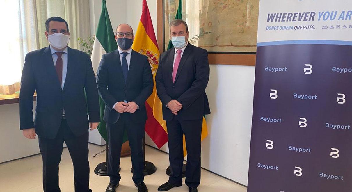 Germán Beardo anuncia la llegada de Bayport a El Puerto