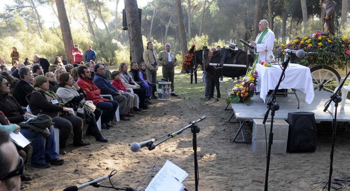 El Puerto no celebrará este año la Romería por la festividad de San Antón