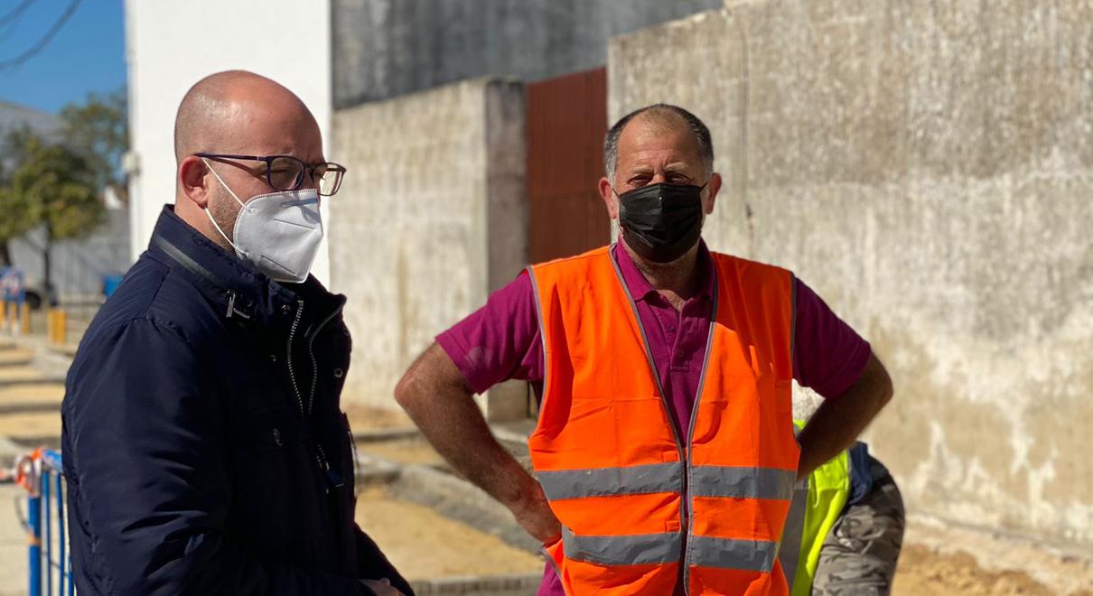 En marcha las obras de mejora urbanística en el Poblado de Doña Blanca