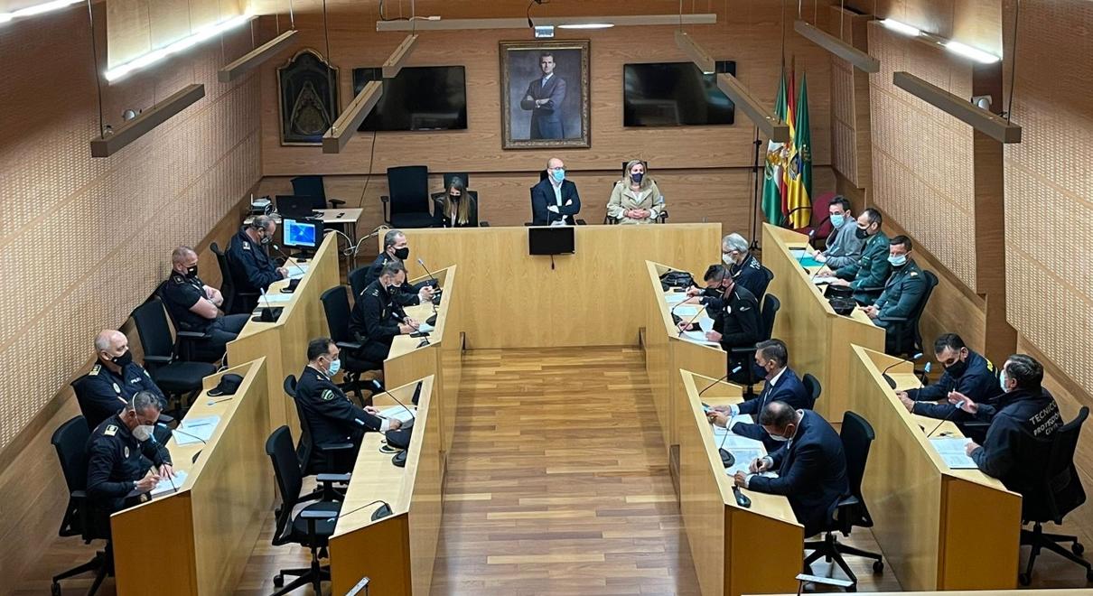 La Junta Local de Seguridad coordina el dispositivo extraordinario ante la celebración del Mundial GP, garantizando la seguridad de la ciudad