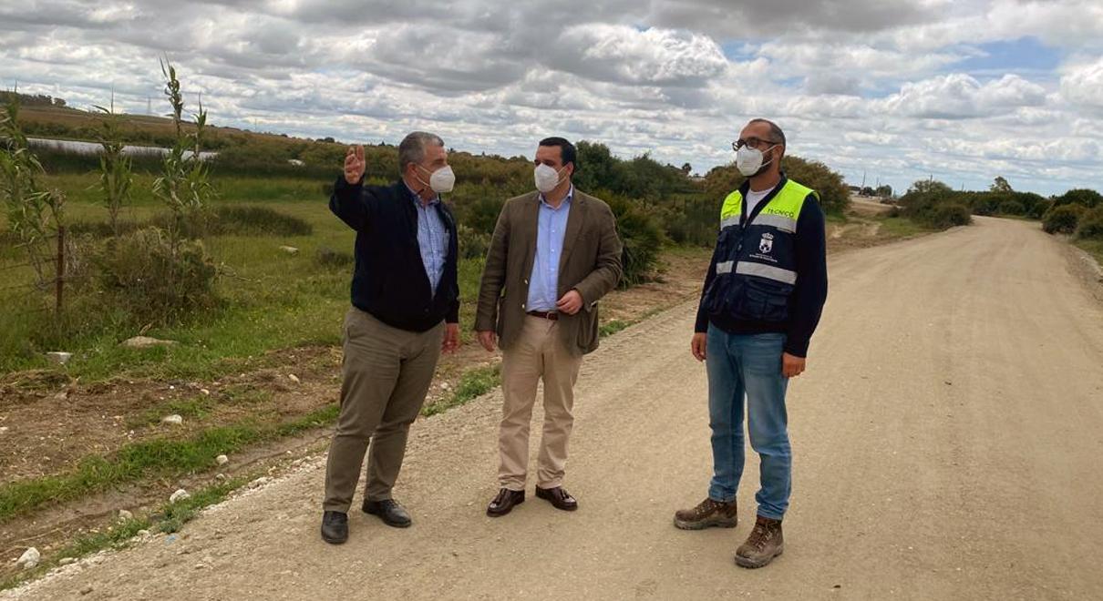 Finaliza la adecuación de los dos primeros kilómetros de la Ruta Enoturística por el Camino de Los Romanos