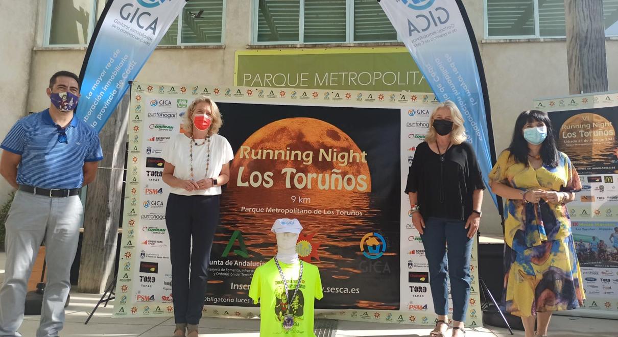 El Parque de Los Toruños acoge la VI edición de la Running Night (Luna Llena) el próximo sábado