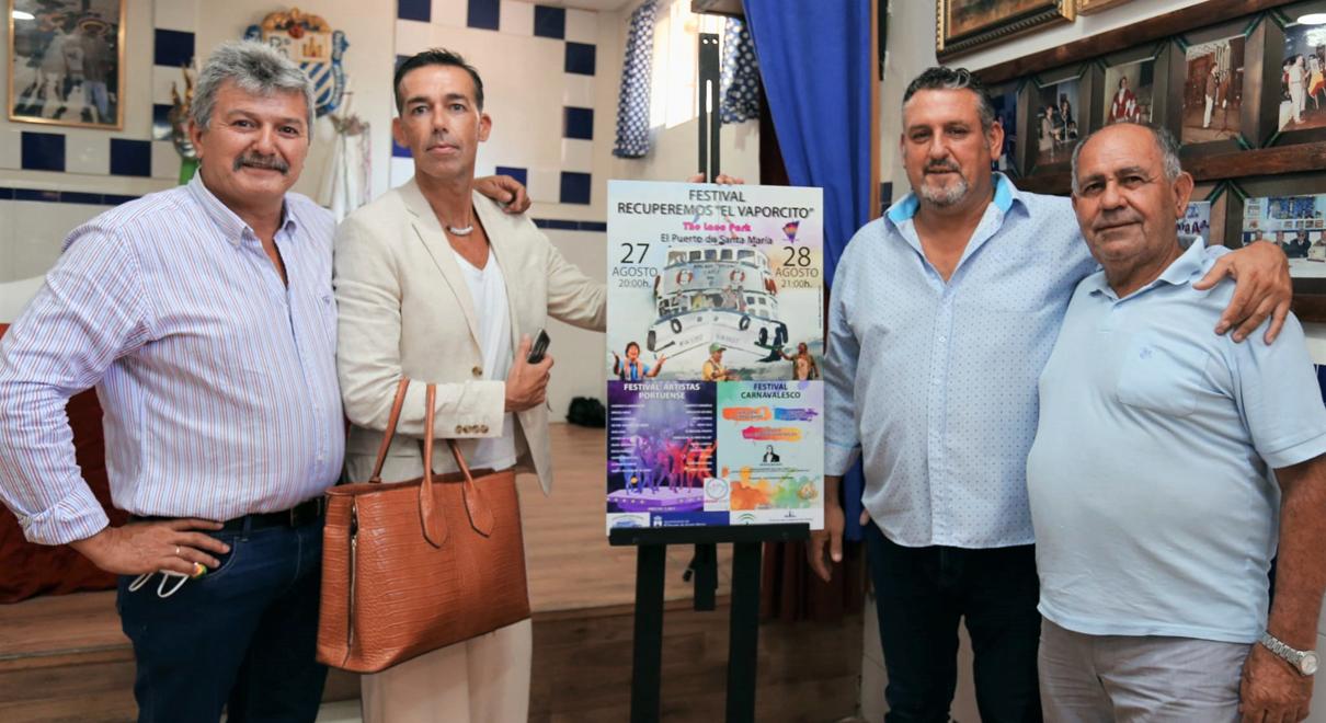 "Calleja presenta el cartel anunciador del Festival ""Recuperemos el Vaporcito"""