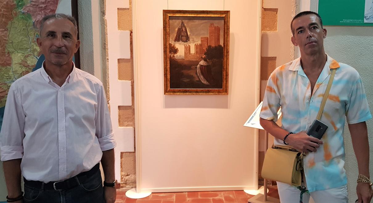 """Calleja presenta la Pieza del Mes: el cuadro de Manuel Cea """"Aparición de la Virgen de los Milagros ante Alfonso X El Sabio"""""""