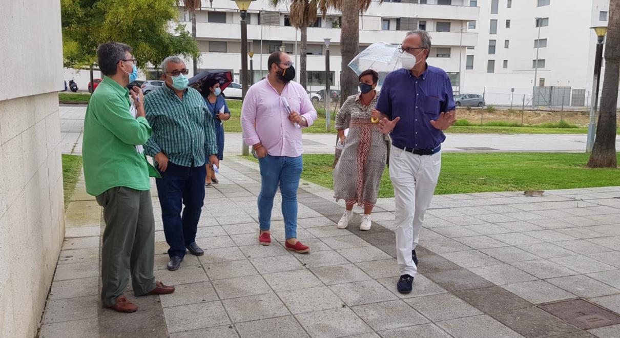 Bello anima a la Asociación de Vecinos Jardín de Cano a formar parte de la red de Participación Ciudadana