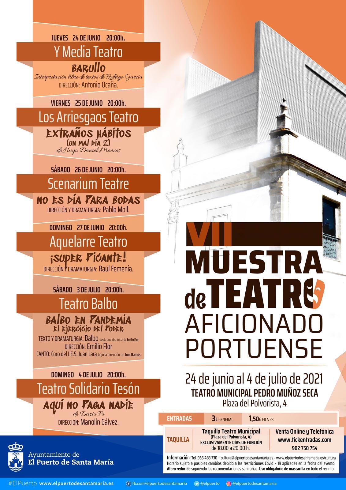 VII Muestra de Teatro Portuense