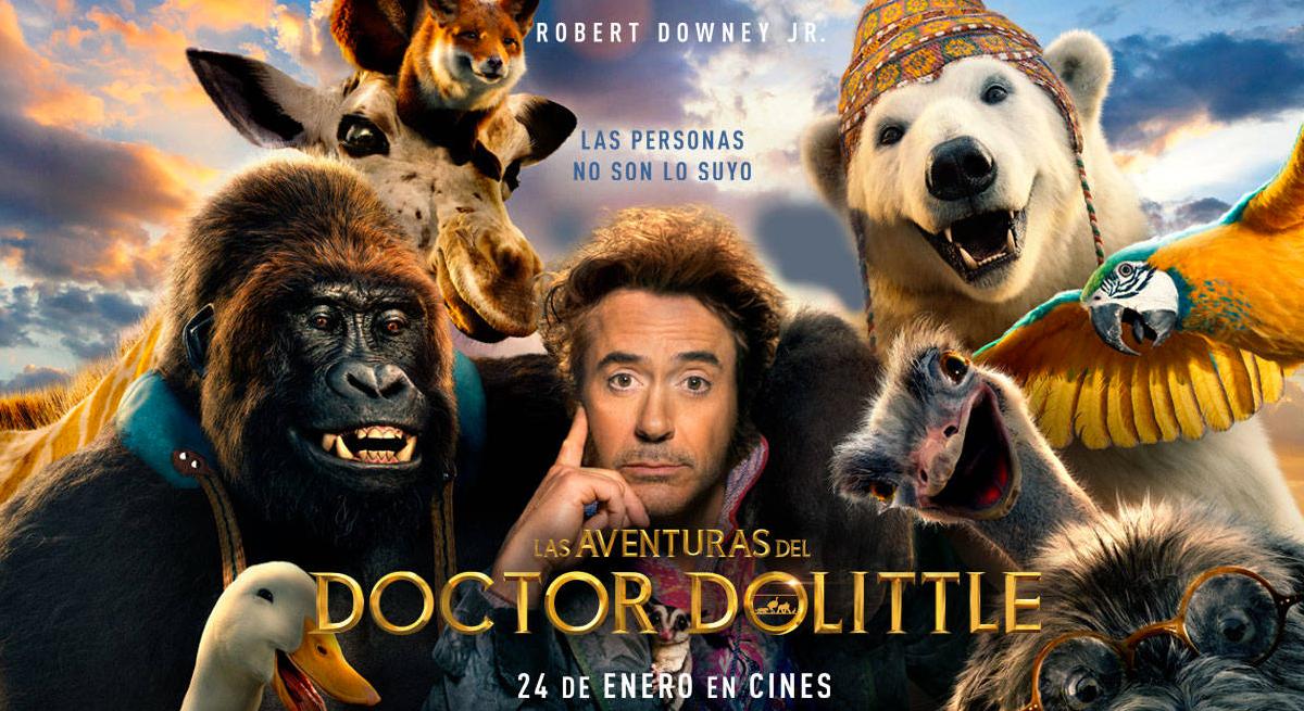 Cine de Verano Familiar · Las aventuras del Doctor Dolittle