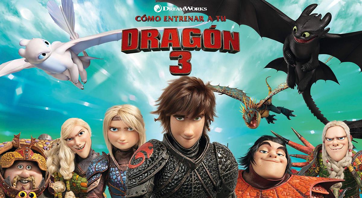 Cine de Verano Familiar · Cómo entrenar a tu dragón 3