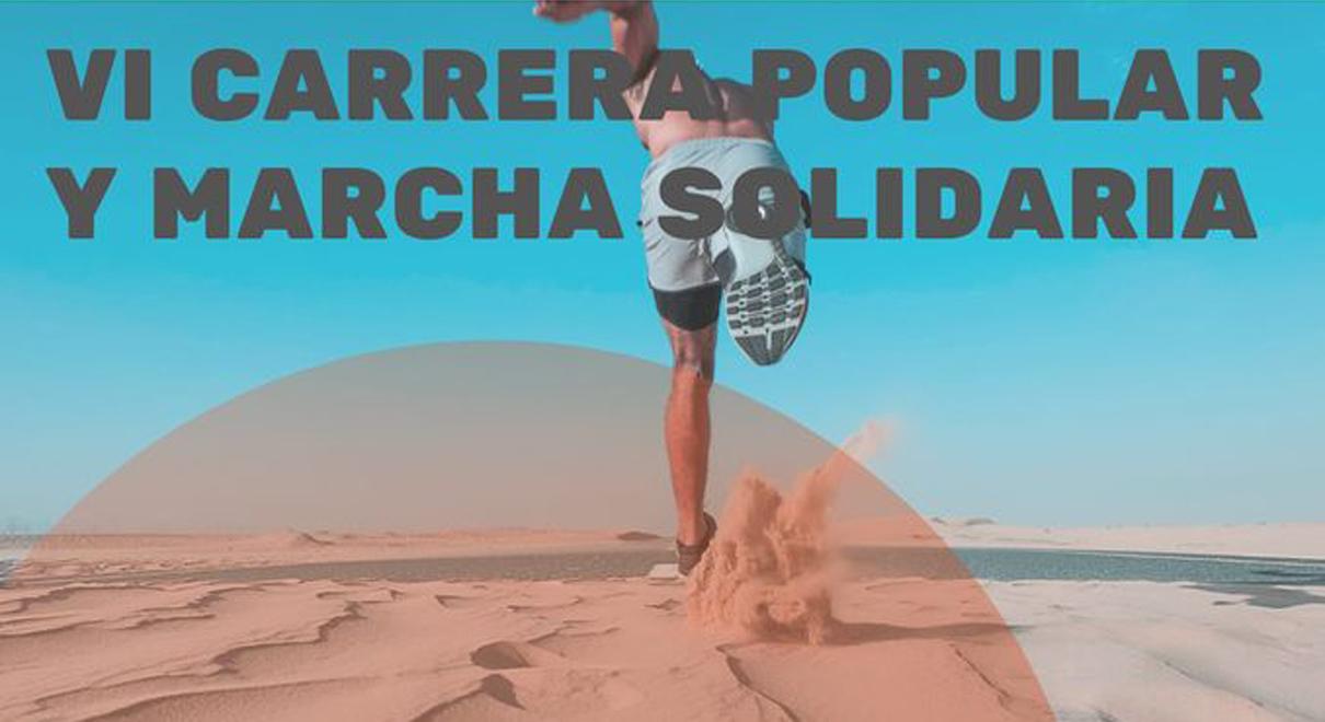 VI Carrera Popular y Marcha Solidaria