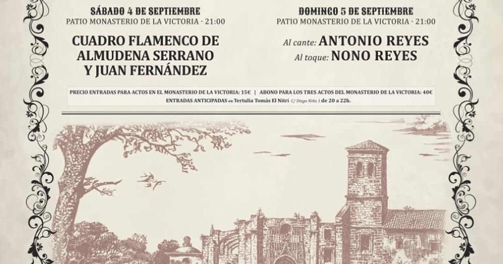 Jornadas del Cante de Cádiz y El Puerto. Antonio Reyes y Nono Reyes