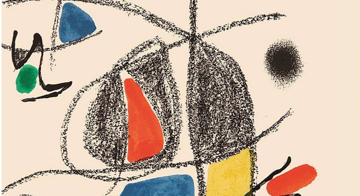 Miró y Alberti. Exposición de la carpeta