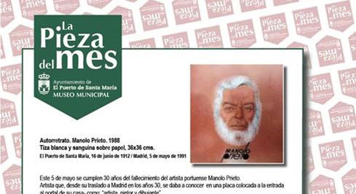 La Pieza del Mes. Autorretrato de Manolo Prieto