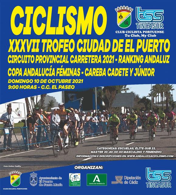 Ciclismo · XXXVII Trofeo Ciudad de El Puerto