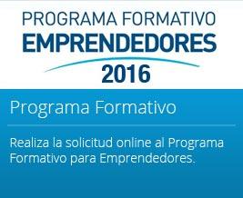 Programa Formativo Emprendedores 2016